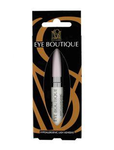 Brush on eyelash glue