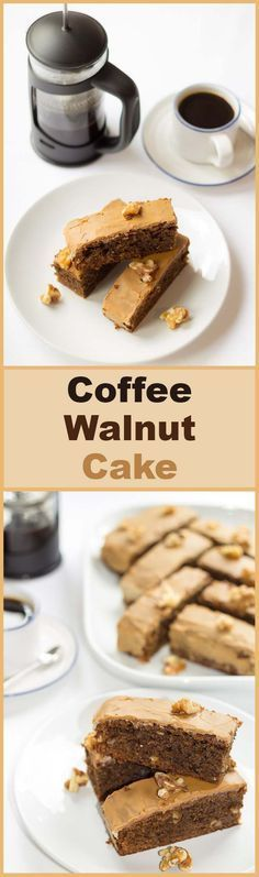 A deliciously moist nutty textured cake with just a hint of coffee. Loved by coffee lovers and non- lovers alike.