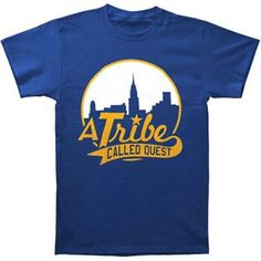 Rockabilia A Tribe Called Quest Skyline On Royal T-shirt