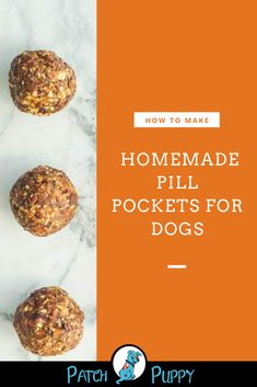 Giving your dog a pill can be a nightmare. Check out our post Pill Pockets for Dogs to learn how to make these Homemade Dog Pill Pockets without Peanut butter and what are the best foods to hide dog pills in. Dog Biscuit Recipes, Dog Treat Recipes, Dog Food Recipes, Healthy Recipes, Snacks Recipes, Pumpkin Dog Treats, Diy Dog Treats, Healthy Dog Treats, Cat Care Tips