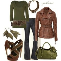 Fall Style... - Click image to find more Women's Fashion Pinterest pins by butterfly1017