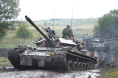 Romanian fighting vehicles TR-85M1
