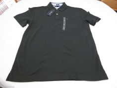 Mens Tommy Hilfiger Polo shirt XXL slim fit solid NEW 7845144 new pine 350 green #TommyHilfiger #polo