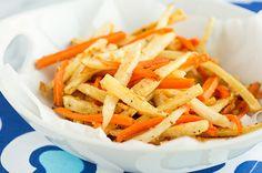 Recipe: Crispy Baked Fish And Veggie 'Fries'