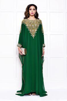 Emerald dress