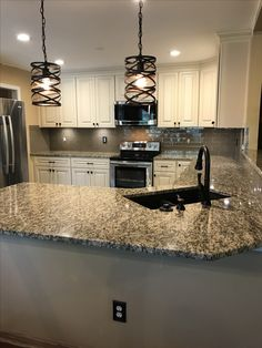 One of the more popular renovations for many homes is a kitchen renovation. See these remodeling Kitchen ideas before you start your remodeling. Little Kitchen, New Kitchen, Kitchen Ideas, Kitchen Reno, Rustic Kitchen, Kitchen Designs, Kitchen Island, Kitchen Flooring, Kitchen Backsplash