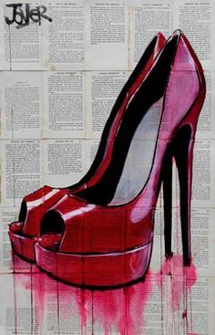 "Saatchi Art Artist Loui Jover; Drawing, ""high life"" #art"