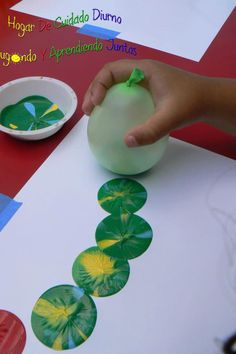 Balloon prints....centres