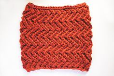 This zig zag knit cowl made with Wool-Ease Thick & Quick makes a great gift.  Check out the pattern by @goodknits.