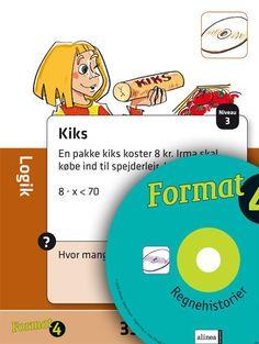 Format 4. kl., regnehistorier med 2 cd'er