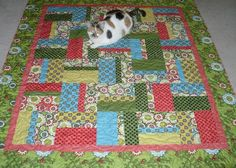 Easy-PeasySimply-Strippy Fat-Quarter-Friendly Quilt Finished Size 60x69  Course Instructor: Lisa Sipes I have made this quilt many different ways, many different sizes and with many different fa...