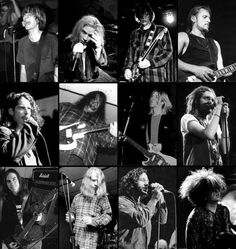 The faces of the Seattle punk/ grunge sound