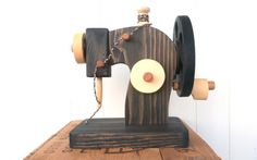 Wooden sewing machine Toy