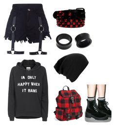 """""""Awesomely Alternative"""" by theratchetdragon on Polyvore featuring Zoe Karssen, NOVICA, Aéropostale and T.U.K."""