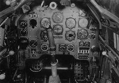 Junkers Ju 87-B2-&-R2-Cockpit