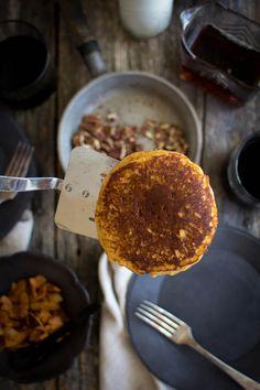 Perfekt Samstagmorgen Kürbis Butter Pfannkuchen Rezept von @beardandbonnet