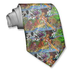 ROCK IT Warrior 3 Yoga Tie by deprise brescia