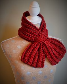 FREE!!! Ravelry: Weave Through Scarflette pattern by Kelly Aubrecht