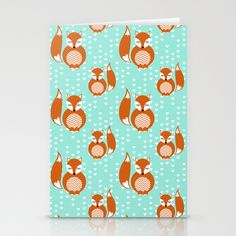 Adore Foxes Stationery Cards by Joanne Paynter - $12.00