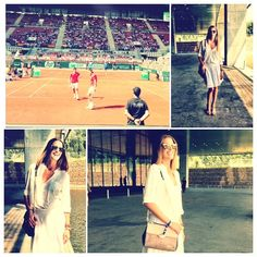 #moda El #estilo de @laura sanchez para una #tarde de #tenis http://blogs.glamour.es/un-paseo-con-laura-sanchez/tarde-de-tenis/ #laurasanchez #stile #style #fashion #glamour #copadavis #celebrity #celebrities #tennis