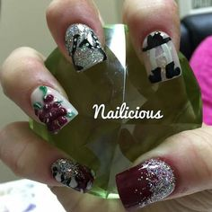 HLS&R Championship Wine Garden Committee Nails.  Thank you, great job as always Michelle Thomas, owner of Nails by Michelle.  YOU NEVER DISAPPOINT!!!  :-*