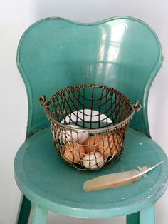 Place a small chair in your coop so you can spend time with your flock!