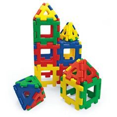 Blocks Tiles and Mats 145931: Giant Polydron -> BUY IT NOW ONLY: $79.38 on #eBay #blocks #tiles #giant #polydron