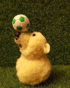 Pompom polar bear