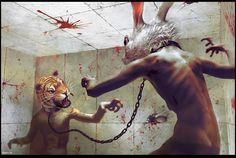 Ryohei Hase – Cultura, arte y diseño mexicano Greetings From Germany, Sombre, Animal Heads, Pop Surrealism, Weird And Wonderful, Monster, Surreal Art, Oeuvre D'art, Art Google