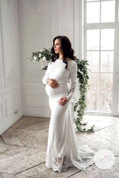 Wedding Dress Low Back, Pregnant Wedding Dress, Maternity Wedding, Pregnancy Outfits, Pregnancy Photos, Maternity Fashion, Maternity Dresses, Maternity Photography, Wedding Photography