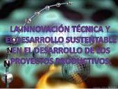 PROCESOS PRODUCTIVOS Y EL DESARROLLO SUSTENTABLE