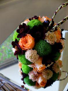 japanesque ball bouquet