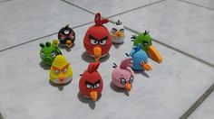 Angry birds quilling
