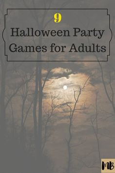 From mad libs to scavenger hunts, here are the Best 9 Halloween Party Games for Adults. All of these Halloween games are fun and cheap for the adults attending your party. Disney Party Games, Fall Party Games, Tween Party Games, Princess Party Games, Girls Party, Party Games For Adults, Disney Halloween, Halloween Games Adults, Halloween Party Themes