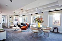 """The grandeur and urban grit of the Row NYC Hotel provide the ultimate contemporary experience to its guests, """"Row NYC transforms your New York Nyc Hotels, Best Hotels, Times Square, Go To New York, Modern Spaces, Next At Home, Mid Century Design, Midcentury Modern, Interior Inspiration"""