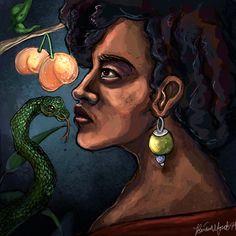 Errant Mind by Briana Monet Walker http://madelftk.deviantart.com/ http://inkandgrease.tumblr.com/