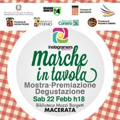 #MarcheinTavola: la festa a #Macerata #Marche