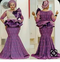 Enchanting aso ebi styles that will inspire you - Opera News Official African Party Dresses, African Lace Dresses, Latest African Fashion Dresses, African Print Fashion, African Prints, African Lace Styles, Ankara Styles, African Style, African Design