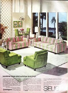 Cool Furniture, Outdoor Furniture Sets, Outdoor Decor, Retro Living Rooms, Background Ideas, Mid Century Modern Furniture, Mid Century Design, Vintage Images, Clutter