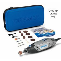 Dremel 3000 Rotary Tool with 15 attachments