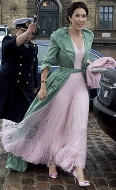 Princess Mary of Denmark with Juozas Statkevicius gown