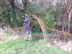 Willow Fence {source} Outtolearn Willow's Blog