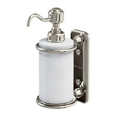 - Obsessed With Traditional Decor? Check out the all new Burlington Arcade Wall Mounted Single Soap Dispenser. Wall Mounted Soap Dispenser, Bathroom Soap Dispenser, Soap Dispensers, Restaurant Bathroom, Bathroom Accessories Luxury, Bathroom Accesories, Luxury Bathrooms, Timeless Bathroom, Heating And Plumbing