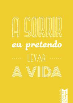 A sorrir! #casadasamigas #asorrir #poster