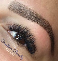 2ec1da0d1a5 Russian Volume eyelash extensions. Full thick and fluffy (Medium set) # Lashes #