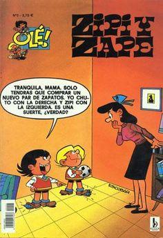 Zipi y Zape.... Antes no se llamaban comics, ¡eran Tebeos!