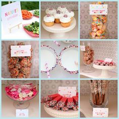 Sprinkles Birthday Party and Other Girl Birthday Parties Sprinkle Party, Baby Sprinkle, Sprinkle Shower, 3rd Birthday Parties, Birthday Fun, Birthday Ideas, Fabulous Birthday, Party Entertainment, Party Planning