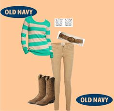 """""""Style That Sweater with Old Navy"""" by skoonce on Polyvore"""