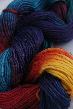 Silky Merino Yarn from Malabrigo in Bahia