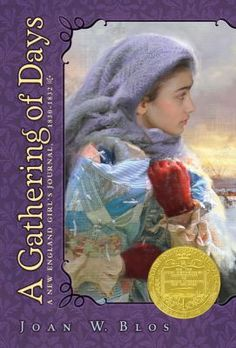 """""""A Gathering of Days,"""" by Joan W. Blos (PZ7 .B6237 GAT 1990) can be found in the Mayfield Library's juvenile collection.  Newbery Medal Winner 1980."""